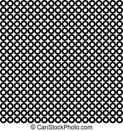 Patrón sin techo de blanco y negro