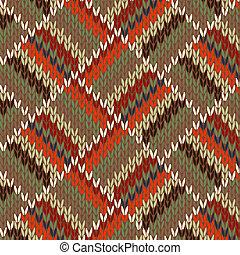 Patrón tejido sin costura
