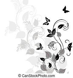 patrón, vegetación