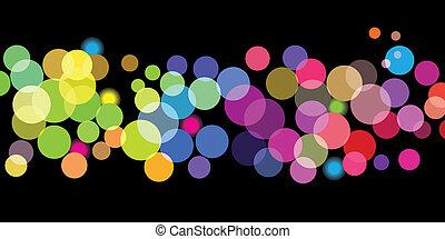 Patrones de colores brillantes