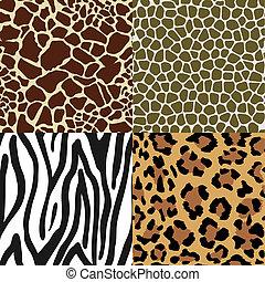 Patrones de piel de animal