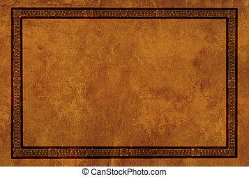 patrones, marco, estadounidense indio, nacional
