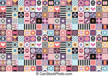 patrones, resumen, geométrico