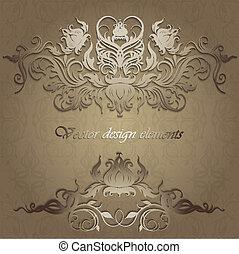 patrones, seamless, plano de fondo, elegante