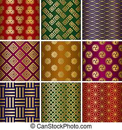 Patrones tradicionales japoneses
