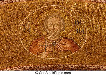 paul, mosaico