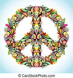 paz, colorido