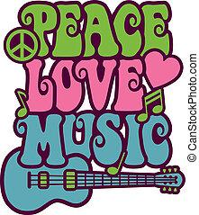 Paz, música de amor