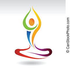 Paz mental Yoga