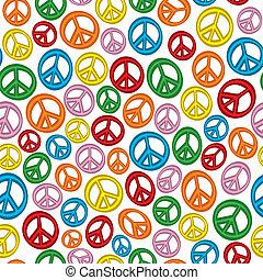 paz, seamless, señales