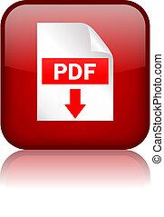 Pdf descarga el botón cuadrado