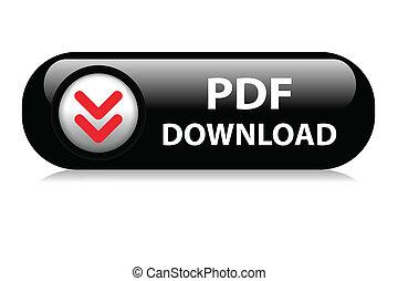 PDF descarga el botón de la red