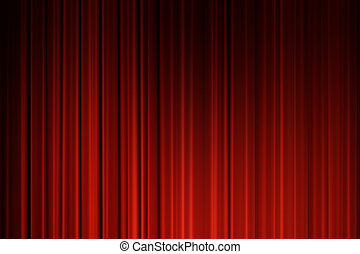 película, cortinas