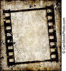 Película Grungy o foto negativo