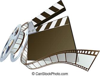 Películas de claqueta y rededor de películas