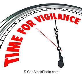 pelea, proteger, palabras, reloj, libertad, tiempo, derechos, vigilancia