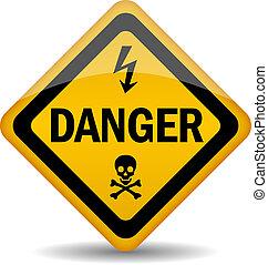 peligro, señal de peligro