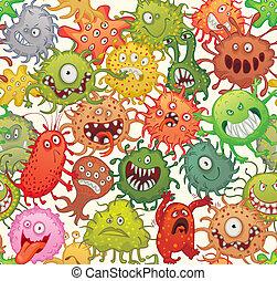 peligroso, microorganismos
