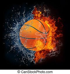 pelota baloncesto