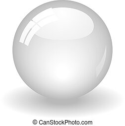 pelota blanca