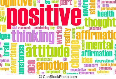 pensamiento, positivo