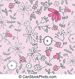 Pequeña flor rosada sin mancha