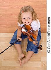 Pequeña músico