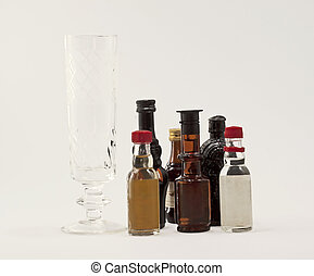 Pequeñas botellas