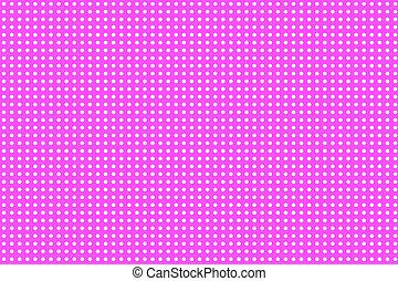 Pequeños puntos blancos en el fondo rosa