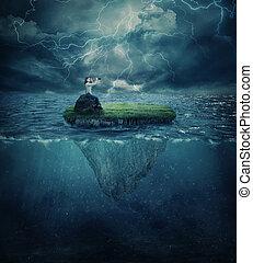 Perdido en el océano