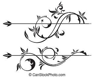Pergamino floral