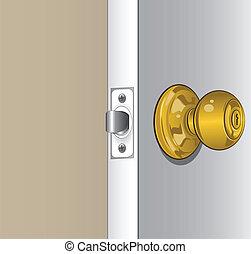 perilla, puerta