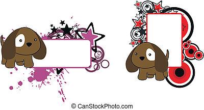 Perrito de dibujos animados