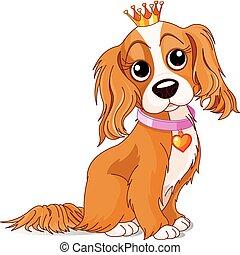 Perro de la realeza
