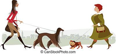 Perros ambulantes