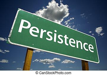persistencia, muestra del camino