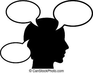 persona, pensamiento