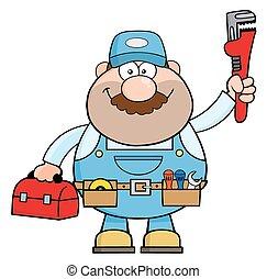 Personaje de dibujos de Handyman