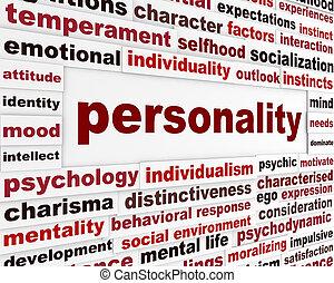 personalidad, interacción, social