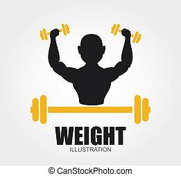 pesas, diseño