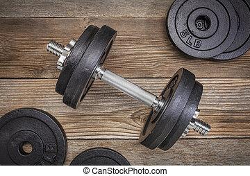 pesas, ejercicio