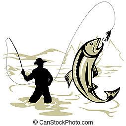 Pesca en mosca