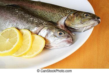 Pescado con limón