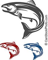 Pescado salmón