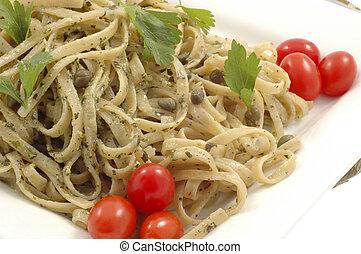 Pesto linguine