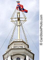 Peter y Paul Fortaleza, Torre de Bandera