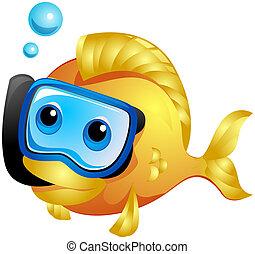pez, snorkeling