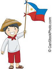philippine, día, independencia