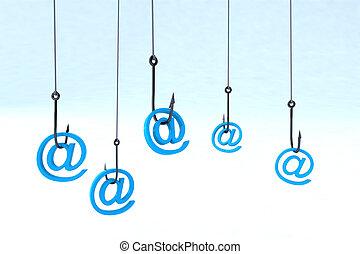 phishing, concepto, tecnología