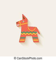 Piñata de fiesta mexicana